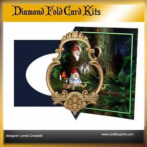 Fishing Gnome Diamond Front Card Kit