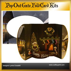 Christmas Eve Pop Out Gatefold Card
