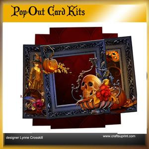 All Hallo's Eve Pop Out Card & Envelope