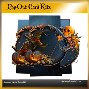 A Pumpkin's Eve Pop Out Card & Envelope