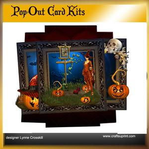 A Witch's Brew Pop Out Card & Envelope