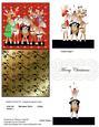 Reindeer Chorus 3D Pop-up Card Kit