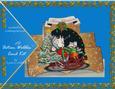 Christmas Mouse 3D 'action Wobbles' Card Kit