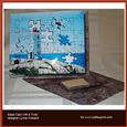 Lighthouse Puzzle Over the Edge Easel Card