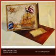 Sail the Seas Over the Edge Easel Card