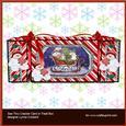 Snowman's Sleigh 2 See Thru Cracker Card
