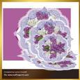 Lilacs Triple Easel Card & Envelope