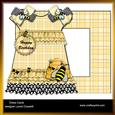 Busy Bees Dress Card & Envelope
