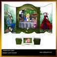 Tea with Alice Shadow Box Card & Belly Band