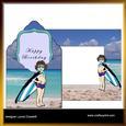 Summer Fun Envelope Card Kit & Envelope
