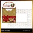 Santa's Sleigh Envelope Card Kit