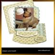 More Please! Out of Bounds Easel Card