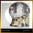 Christmas Fairies Snowglobe Card Kit