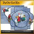 Santa's Ride Pop Out Card