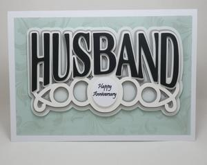 Husband Topper, Silhouette Studio