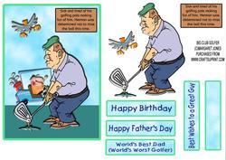 Herman's Big Club - Fathers Day,birthday,any Occasion