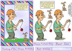 Yoyo Boy - Birthday, Fathers Day, Any Occasion