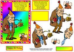 Seniors Birthday Prayer - Humorous