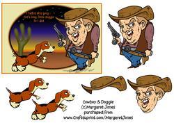 Cowboy & Doggie