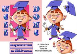 Well Done Graduation 6x6 Card