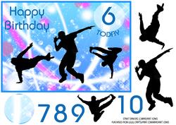 Street Dancers Birthday Ages 6-10