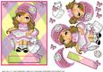 Baby Doll 5 x 7 Card - Any Occasion