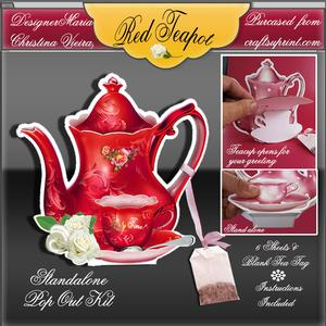 Red Teapot Stand Alone Kit