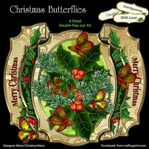 Christmas Butterflies