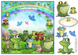 All Frogs Card Front