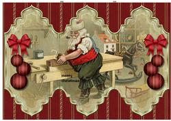 Santa's Workplace Trifold