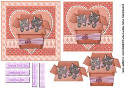 Birthday Girl Kitten 2