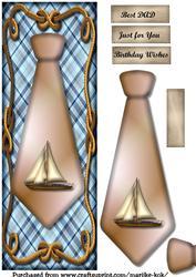 Large Dl Male Card Sailship