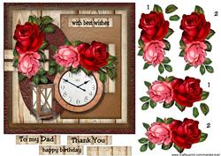 Male Card Time Flies -