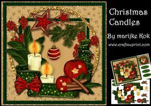 Christmas Candles Mini Kit