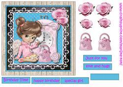Birthday Girl Quick Card