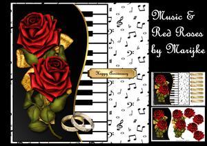 Music & Red Roses Mini Kit