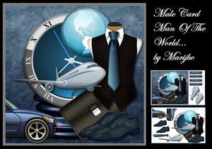 Male Card Man of the World Mini Kit
