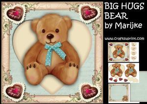 Big Hugs Bear Mini Kit