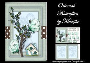 Oriental Butterflies Mini Kit