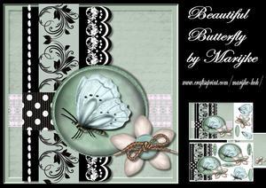 Beautiful Butterfly Mini Kit