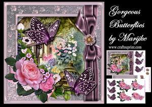 Gorgeous Butterflies Mini Kit