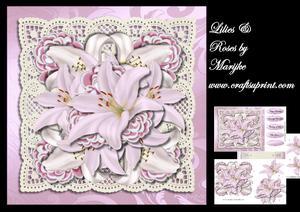Lilies & Roses Mini Kit