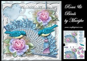Roses & Birds Mini Kit