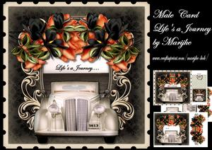 Male Card Life'a Journey