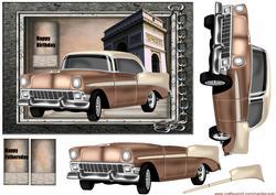 Male Card Classic Car 1