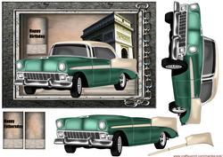 Male Card Classic Car 2