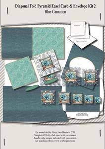 Diagonal Fold Pyramid Card & Envelope Kit 2