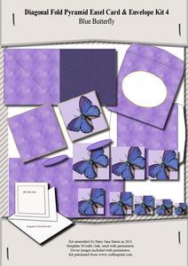 Diagonal Fold Pyramid Card & Envelope Kit 4