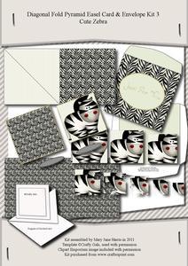 Diagonal Fold Pyramid Card & Envelope Kit 3