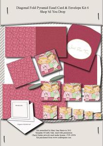Diagonal Fold Pyramid Card & Envelope Kit 5